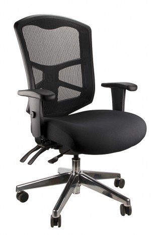 MESH ENCORE CLERICAL BLACK  (price excludes gst)
