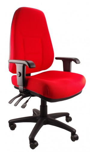 ENDEAVOUR 101F EXECUTIVE CHAIR RED