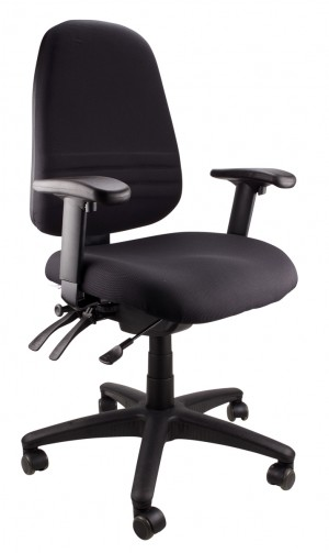 ENDEAVOUR 103A CLERICAL EXECUTIVE CHAIR BLACK  (price excludes gst)