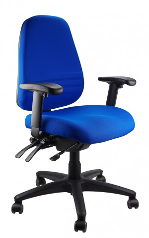ENDEAVOUR 103A CLERICAL EXECUTIVE CHAIR BLUE  (price excludes gst)