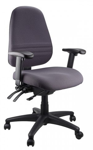 ENDEAVOUR 103A CLERICAL EXECUTIVE CHAIR CHARCOAL  (price excludes gst)