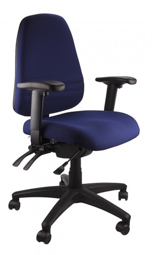 ENDEAVOUR 103A CLERICAL EXECUTIVE CHAIR NAVY  (price excludes gst)