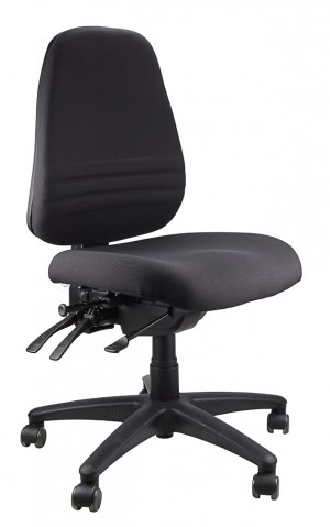 ENDEAVOUR 103 TYPIST EXECUTIVE CHAIR BLACK  (price excludes gst)