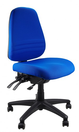 ENDEAVOUR 103 TYPIST EXECUTIVE CHAIR BLUE  (price excludes gst)