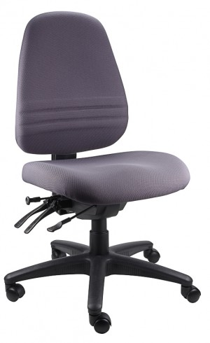 ENDEAVOUR 103 TYPIST EXECUTIVE CHAIR CHARCOAL  (price excludes gst)