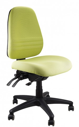 ENDEAVOUR 103 TYPIST EXECUTIVE CHAIR LIME  (price excludes gst)