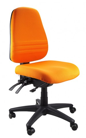 ENDEAVOUR 103 TYPIST EXECUTIVE CHAIR ORANGE  (price excludes gst)