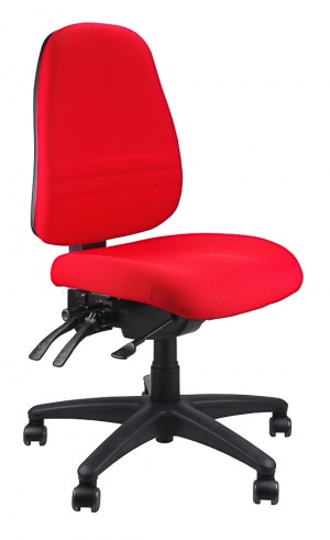 ENDEAVOUR 103 TYPIST EXECUTIVE CHAIR RED  (price excludes gst)