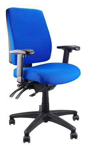 ERGOFORM CLERICAL CHAIR BLUE  (price excludes gst)
