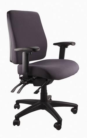 ERGOFORM CLERICAL CHAIR CHARCOAL  (price excludes gst)