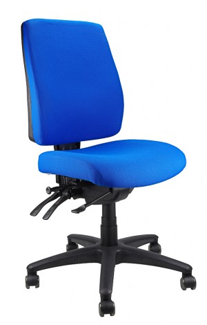 ERGOFORM TYPIST CHAIR BLUE  (price excludes gst)