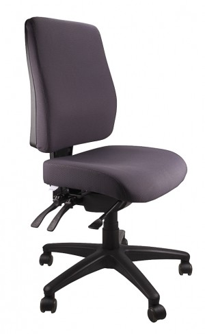 ERGOFORM TYPIST CHAIR CHARCOAL  (price excludes gst)