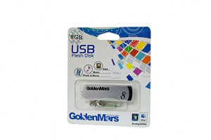 USB FLASH DRIVE GOLDMARS 8GB  (price excludes gst)