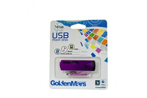 USB FLASH DRIVE GOLDMARS 16GB  (price excludes gst)