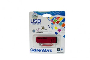 USB FLASH DRIVE GOLDMARS 32GB  (price excludes gst)