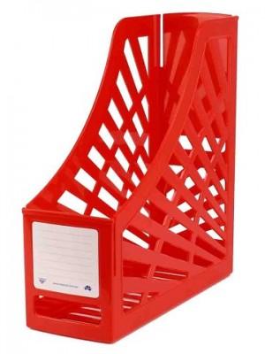 MAGAZINE FILE BOX RED #I-160 ITALPLAST  (price excludes gst)