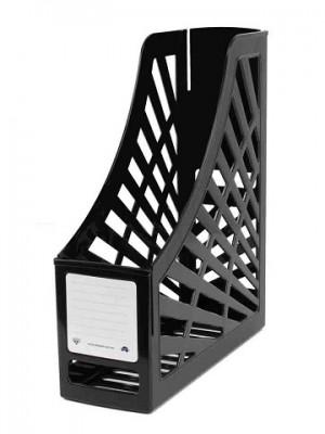 MAGAZINE FILE BOX BLACK #I-160 ITALPLAST   (price excludes gst)