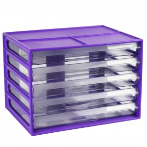 DOCUMENT CABINET A4 5 DRAWER GRAPE #I-326FG  (price excludes gst)