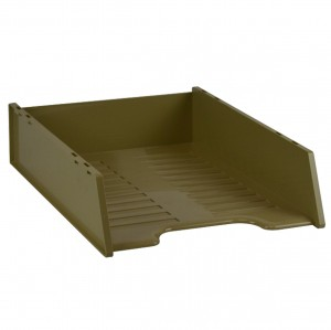 DOCUMENT TRAY STACKABLE ITALPLAST BEIGE #I-60BGE