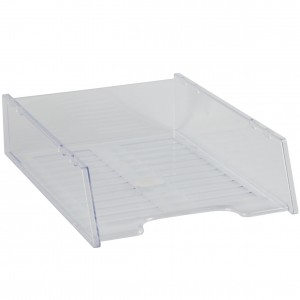 DOCUMENT TRAY STACKABLE CLEAR #I-60CLR