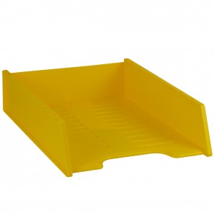 MULTIFIT DOCUMENT TRAY STACKABLE BANANA #I-60FBA   (price excludes gst)