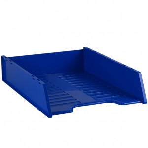 MULTIFIT DOCUMENT TRAY STACKABLE BLUEBERRY #I-60FBB  (price excludes gst)