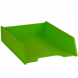 MULTIFIT DOCUMENT TRAY STACKABLE LIME #I-60FL  (price excludes gst)