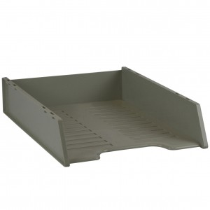 DOCUMENT TRAY STACKABLE ITALPLAST LIGHT GREY #I-60LG