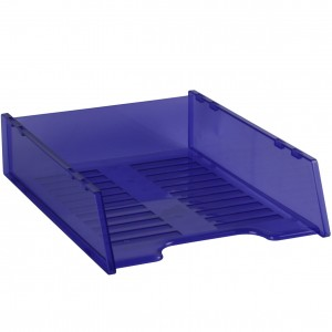 DOCUMENT TRAY STACKABLE TINTED PURPLE #I-60PR
