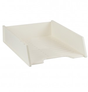 DOCUMENT TRAY STACKABLE ITALPLAST WHITE #I-60WHT