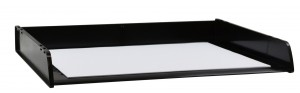 DOCUMENT TRAY A3 STACKABLE BLACK #I-90BLK  (price excludes gst)
