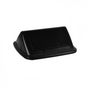 32L SWING TOP LID BLACK I-190BLK (TO SUIT ITALPLAST 32L BIN)