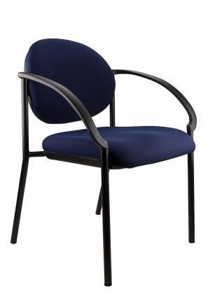 JACKSON STACKABLE VISITORS CHAIR BLUE  (price excludes gst)