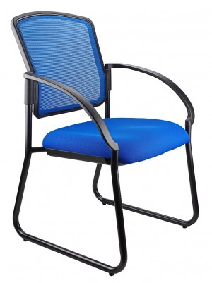 JORDAN VISITORS CHAIR BLUE  (price excludes gst)
