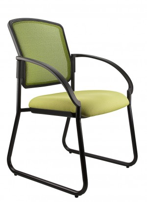 JORDAN VISITORS CHAIR LIME  (price excludes gst)