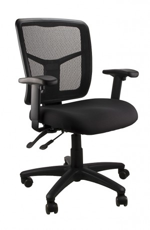 MESH KIMBERLY CLERICAL CHAIR BLACK  (price excludes gst)