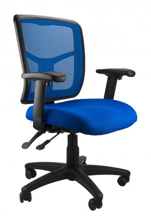 MESH KIMBERLY CLERICAL CHAIR BLUE  (price excludes gst)