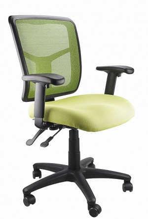 MESH KIMBERLY CLERICAL CHAIR GREEN  (price excludes gst)