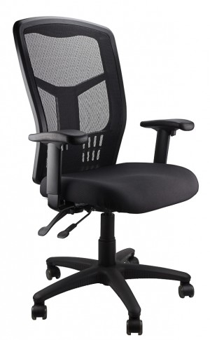 MESH KIMBERLY HIGH BACK CHAIR BLACK  (price excludes gst)