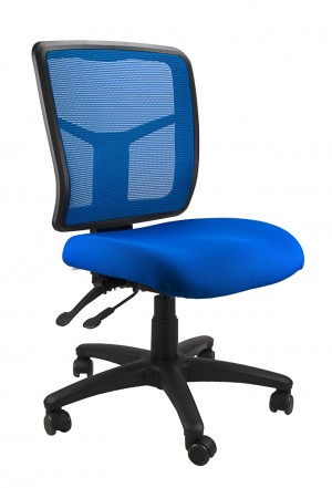 MESH KIMBERLY TYPIST CHAIR BLUE  (price excludes gst)