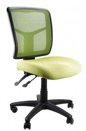 MESH KIMBERLY TYPIST CHAIR GREEN  (price excludes gst)