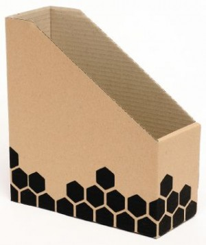 MAGAZINE FILE BOX CARDBOARD #80050