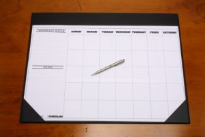 DESK PAD CUMBERLAND WITH CALENDAR SHEET #OM1002  (price excludes gst)