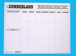 DESK PAD REFILL CUMBERLAND #OM100R  (price excludes gst)