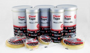 PILOTAPE CLEAR 18mm x 33m (INDIVIDUAL) #306224 (price excludes gst)