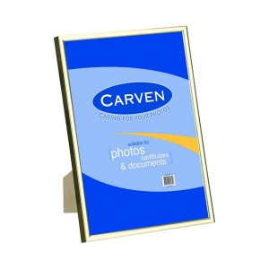 CERTIFICATE FRAME A4 CARVEN GOLD #QFWDGLDA4 (price excludes GST)