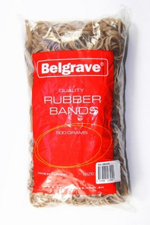 RUBBER BANDS #18 500g (price excludes gst)