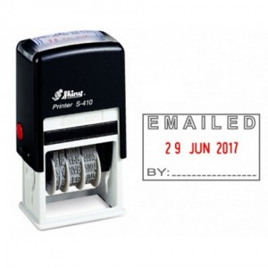 SHINY SELF-INKING DATER S-410 EMAILED (price excludes gst)