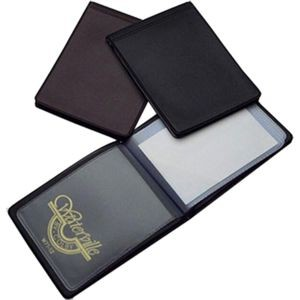 CARDHOLDER WALLET WATERVILLE #W71-12 BLACK (price excludes GST)