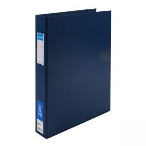 PVC BINDER A3 3 RING 38mm BANTEX #1267-301 BLUE